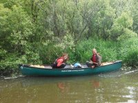 Just you and your canoe!