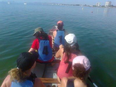 2 hour Canoe route in San Pedro del Pinatar