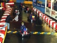 An enjoyable time karting