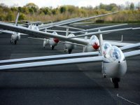 Gliders at York Gliding Centre
