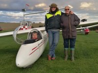 Congratulations on that solo flight with Welland Gliding Club!