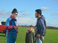 An introductory briefing at Lincolnshire Gliding Club
