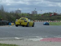 Racing on the track