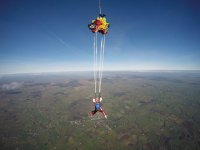 Deploying the chute