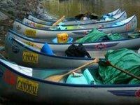 Their canoeing fleet