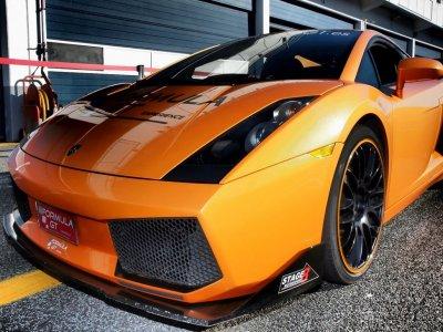 1-lap on Lamborghini circuit Can Padró