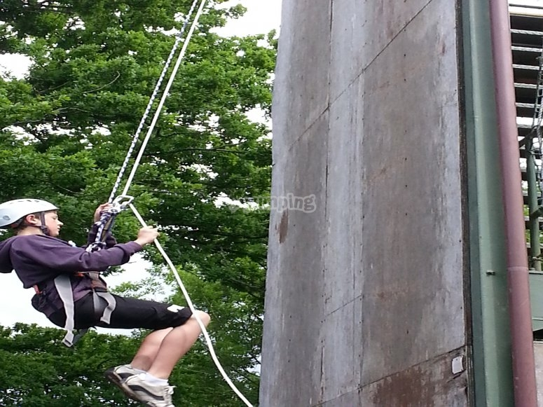 Abseiling Parties