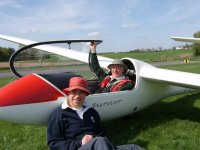 Training with Herefordshire Gliding Club