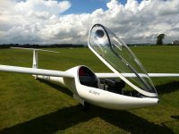 Beautiful gliders at Rattlesden Gliding Club