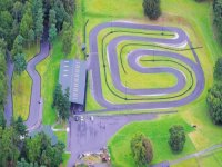 An aerial view of our track