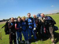Some of our skydivers