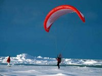 Paramotoring on ICe