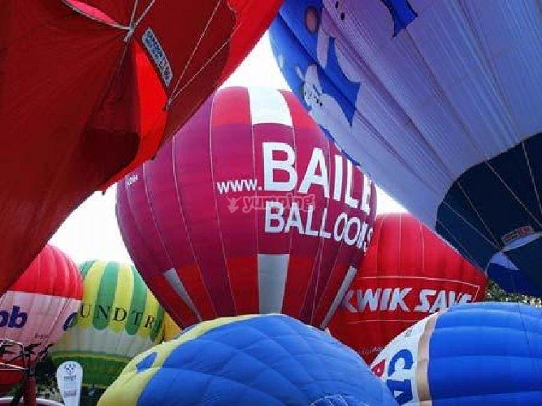 Bailey Balloons Ballooning