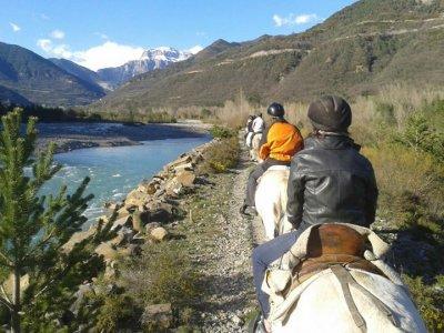 Horseback Riding in Sarvisé (Huesca) - 1h