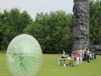 The big zorbing ball