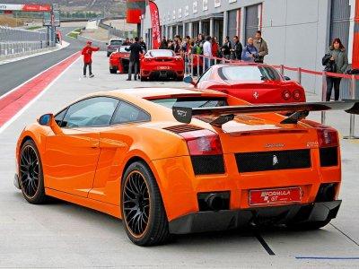 1 lap in Lamborghini at National Montmeló circuit