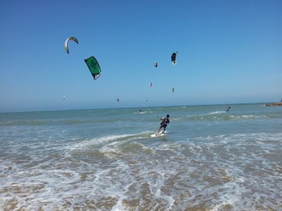 Special offer kitesurfing baptism in Guardamar