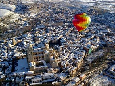 Balloon flight in Segovia + Brunch + Audiovisuals