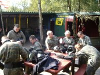Paintball is a group activity