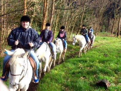 Horse riding route in Sésamo, 2 hours