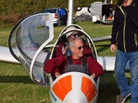 About to start the lesson with Surrey Hills Gliding Club