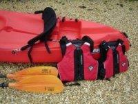 Kayak Equipment.