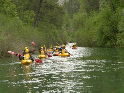 Canoeing for two days + accomodation