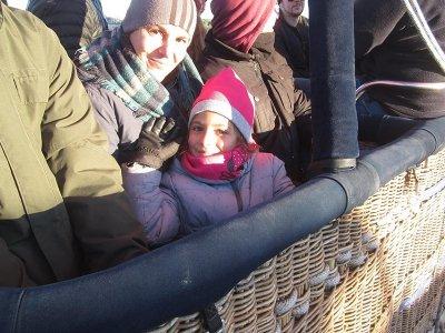 Balloon flight Segovia Kids + Brunch + Pictures