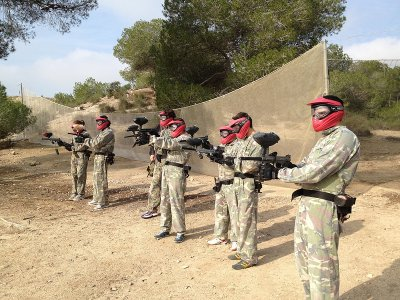 100 balls paintball in San Miguel de Salinas