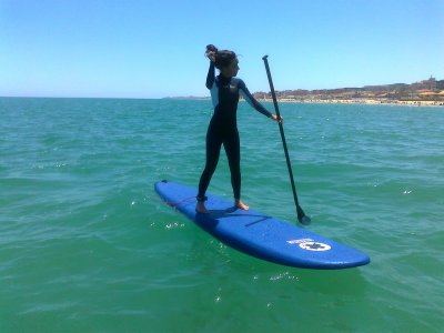 1h Initiatory paddle surf course