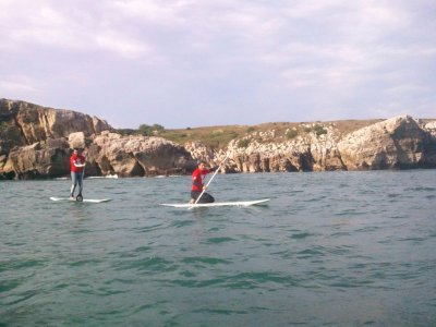 Guided hikings paddle surfing 2h