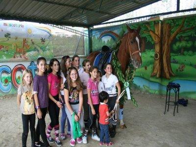 C.D mascotario Campamentos Hípicos