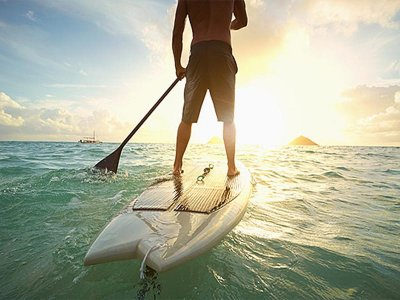 Paddle surf lesson for groups Playa San Juan 2h