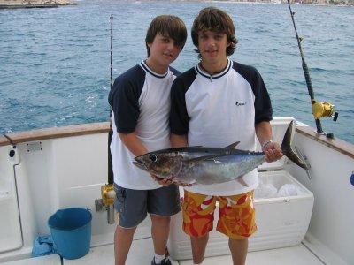 Fishing In Family in Javea 4h