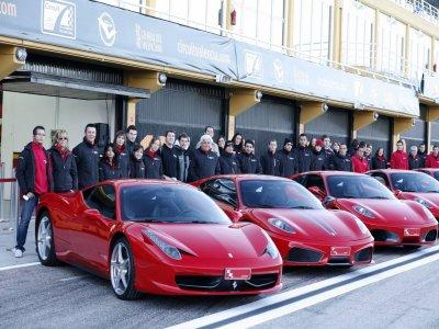 Drive a Ferrari 430 F1 in Cheste. 1 lap