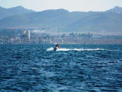 15-minute jet ski ride in Murcia
