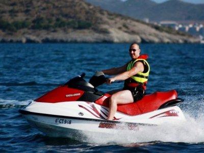1-hour jet ski ride in Murcia