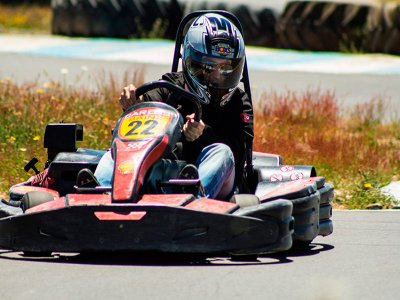 Karting for adults 10 min Salamanca