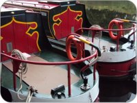 The rear deck of ´Swan´