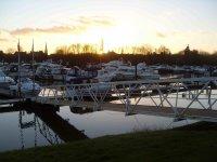 Enjoy beautiful views from your narrowboat