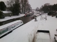 You can enjoy a canal boat holiday all year round!