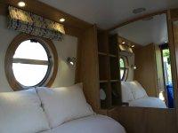 Inside Aqua Life, our brand new narrowboat