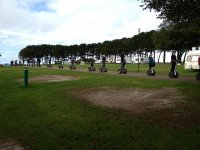 A group day out on segways