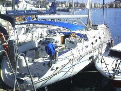 Rent a sailing boat for a weekend, high season