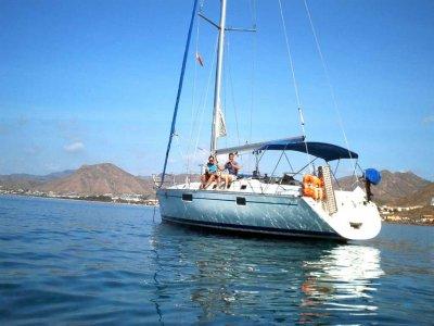 Rent sailing boat mid season Las Águilas 4h