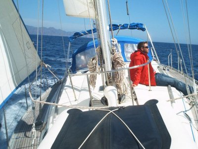 2 days sailing boat course in Aguilas