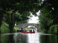 Tranquil paddling