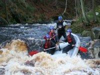 Rafting thrills