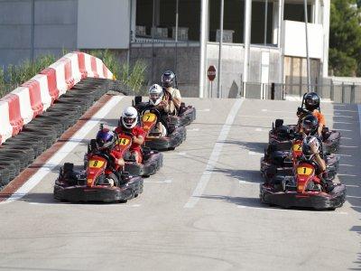 Karting GP gold race in Xeresa
