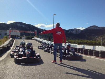 10 minutes child karting batch in Xeresa